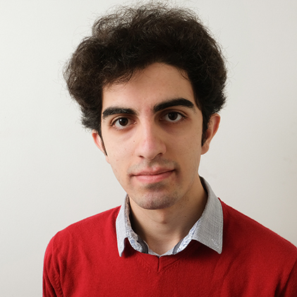 Portrait Photo of Edwin Bahrami Balani