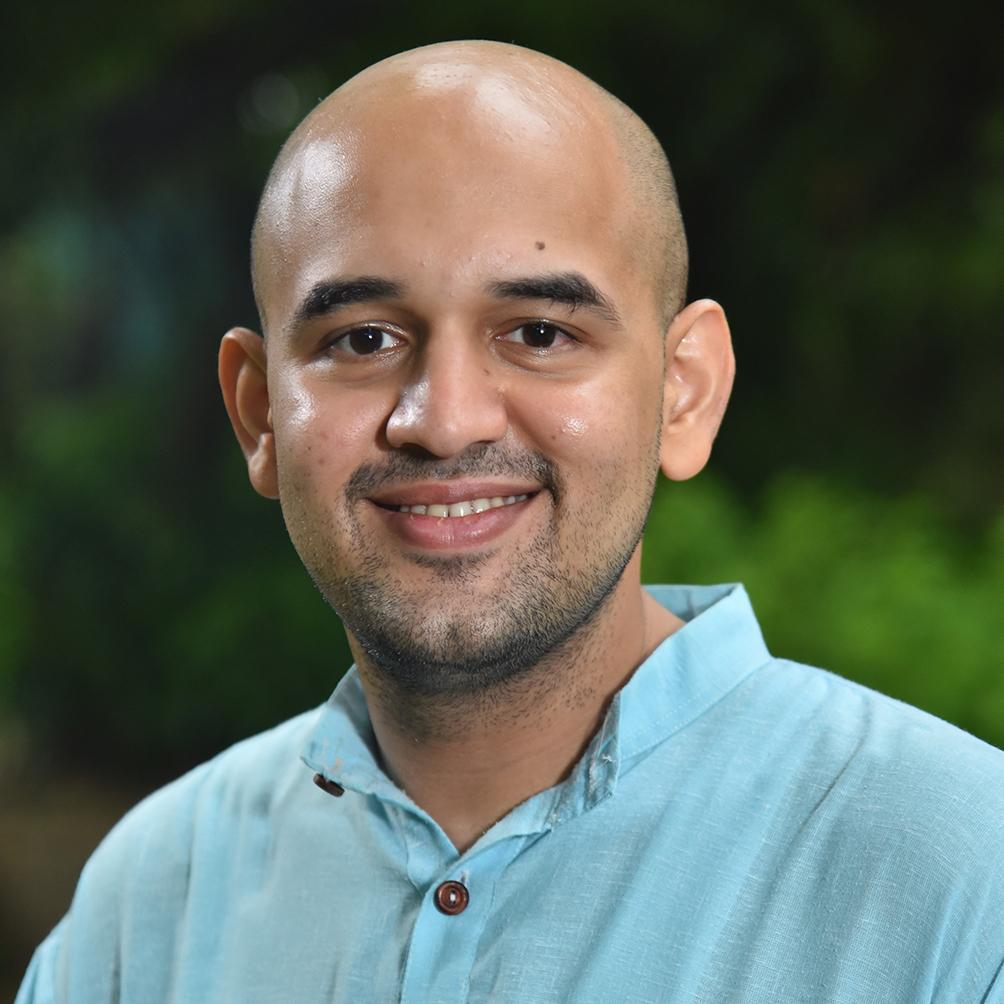 Portrait Photo of Nishant Gokhale